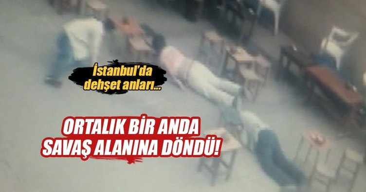 İstanbul'daki ölümlü kavga kamerada