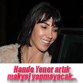 Hande Yener'den makyaj itirafı
