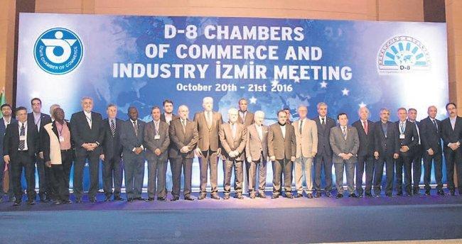 D-8 Ticaret ve Sanayi Odaları İzmir'de