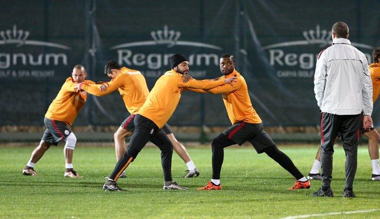 Galatasaray idmanında gerginlik
