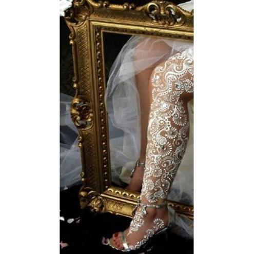 Yeni moda beyaz kına