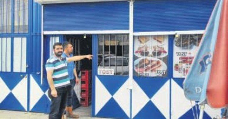 Market hırsızları polisten kaçamadı