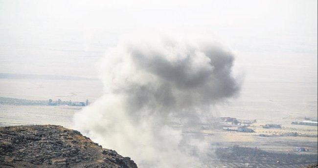 ABD Musul'da DEAŞ'ı vurmaya başladı