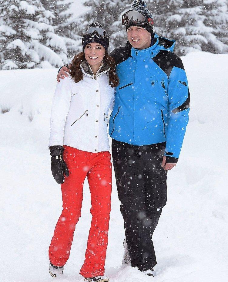 Kraliyet ailesinin kar tatili
