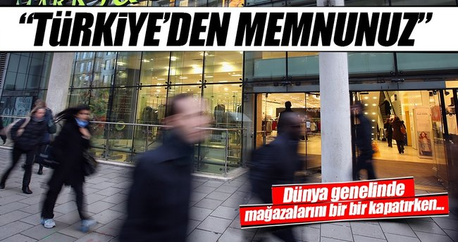 Marks and Spencer, Türkiye'den memnun