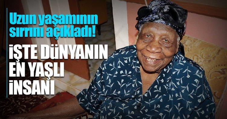 Dünyanın en yaşlı insanı unvanı artık Violet Mosse Brown'ın