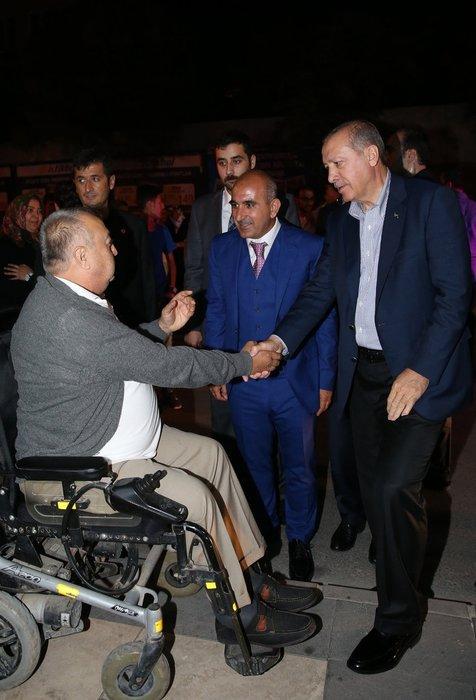 Kilis'te Cumhurbaşkanı Erdoğan'a yoğun ilgi
