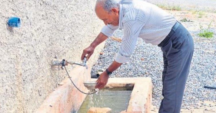 94 yıllık su hasreti bitti