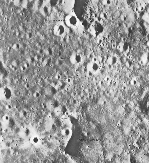 Ay'daki fotoğrafın sırrı