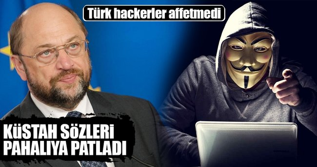 Türk hackerlar Avrupa Parlamentosunu hedef aldı