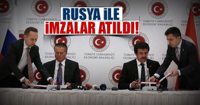 Türkiye, Rusya ile ortak bildiri imzaladı