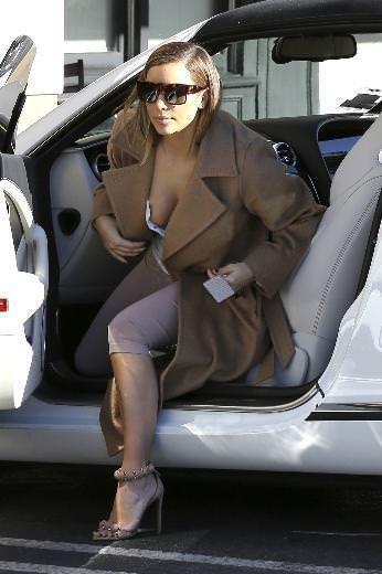 Kim Kardashian araba kazası