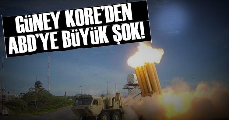 Güney Kore'den ABD'ye büyük şok!