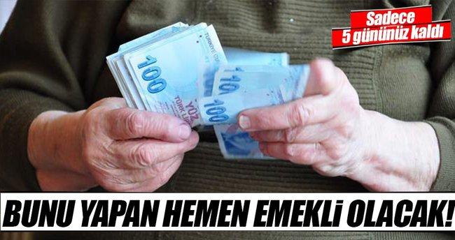 Prim borcu yapılandırmak için son günler!
