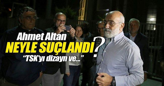 Ahmet Altan'a şok suçlama: TSK'yı darbecilerle dizayn etti!
