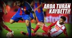 Arda Turan'lı Barcelona kaybetti