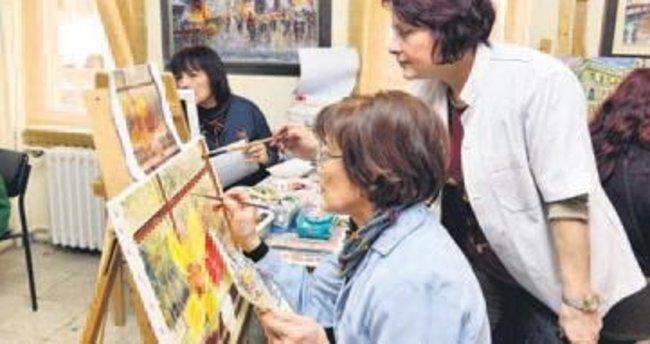Büyükşehir'den sanatsal kurslar