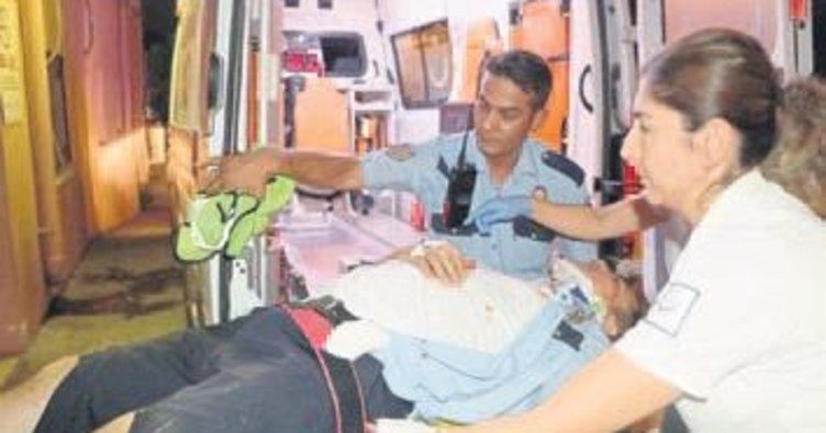 Polisi yaralayan sürücü yakalandı