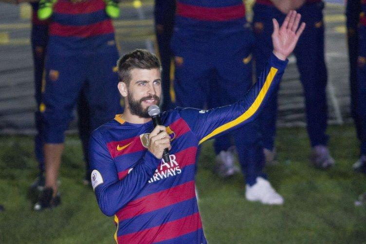 Barcelona şampiyonluk kutlamaları!