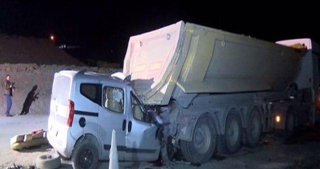 İstanbul Eyüp'te trafik kazası: 2 ölü