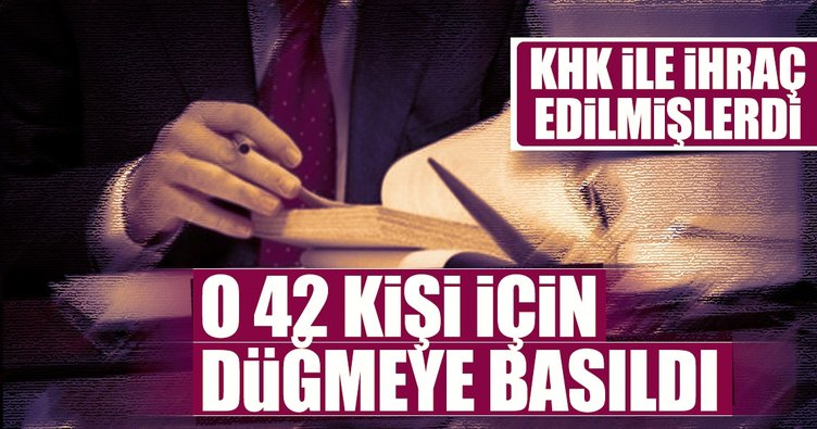 İçişleri Bakanlığı personeli hakkında 42 gözaltı kararı