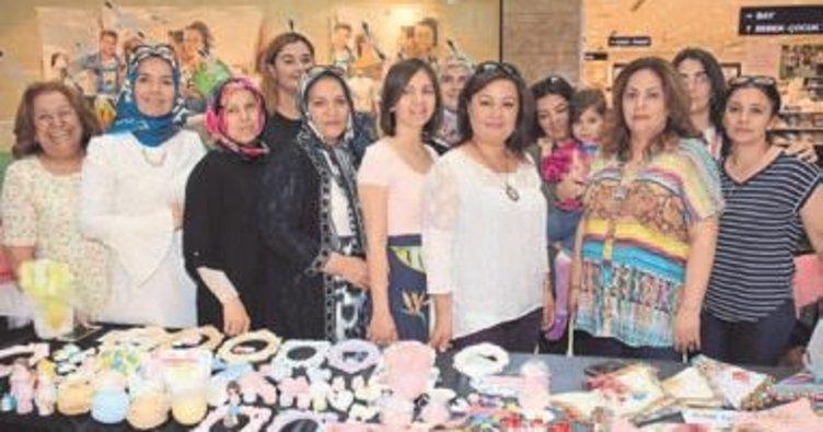 Mutlu kadınlardan el ürünleri sergisi