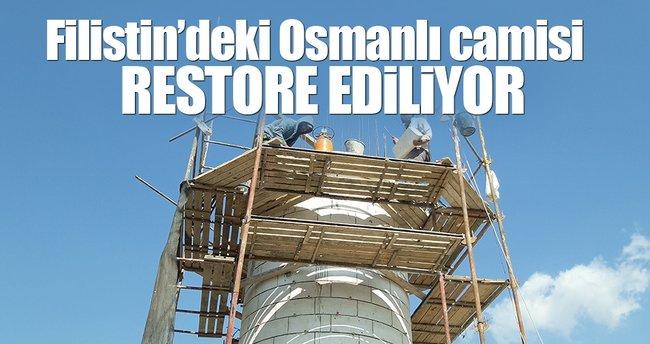 Filistin'deki Osmanlı camisi restore ediliyor