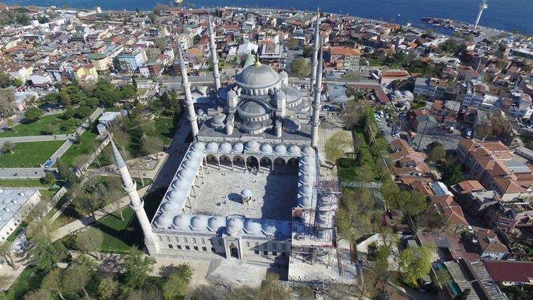 Sultanahmet restorasyonunda sona gelindi