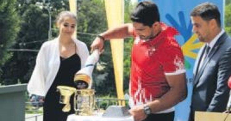 Olimpiyat meşalesi bugün Samsun'da