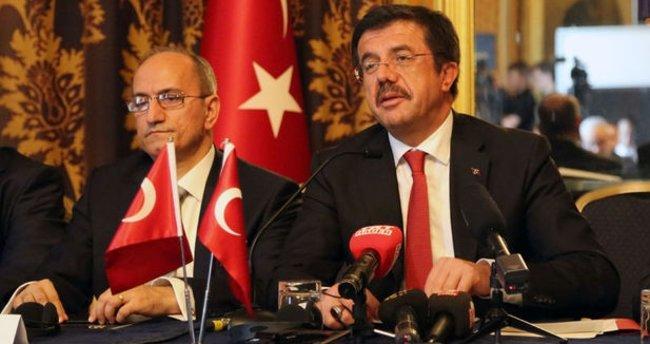 Ekonomi Bakanı Nihat Zeybekci Londra'da