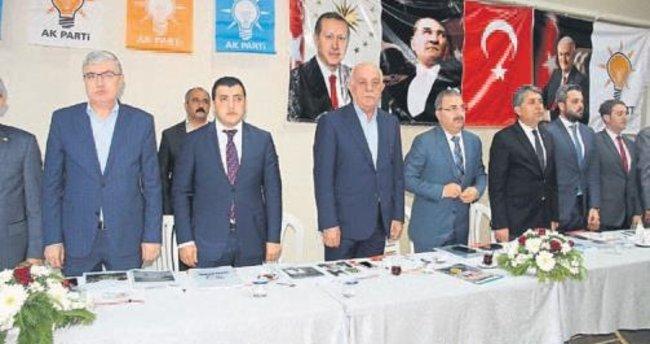 AK Parti Danışma Meclisi İskenderun'da toplandı