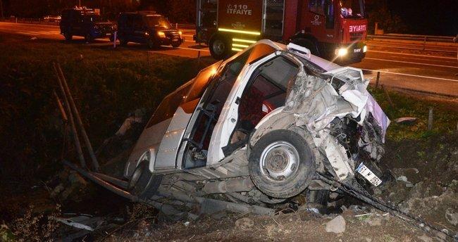 Ordu'da korkunç kaza: 3 ölü, 4 yaralı