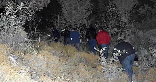 Ormanlık alanda kadın cesedi bulundu