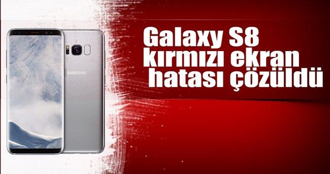 Galaxy S8 kırmızı ekran güncellemesi yayınlandı!