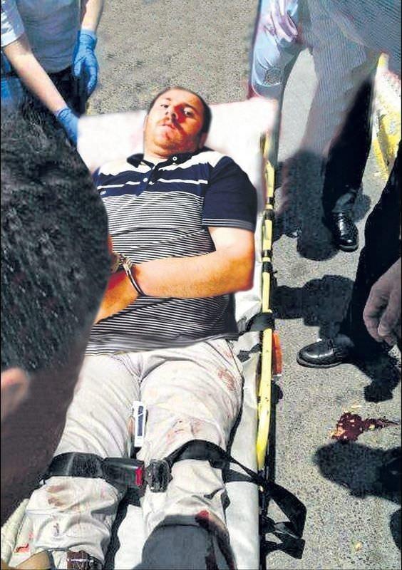 Türk bayrağını indirmeye çalışan kişi intihar etti