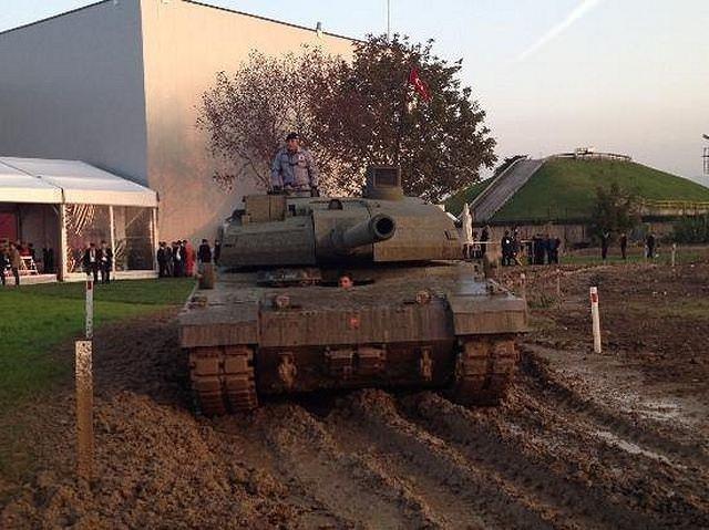 Altay tankı seri üretime hazır