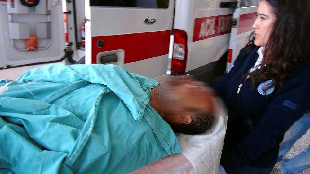Define arama sırasında patlama: 3 yaralı