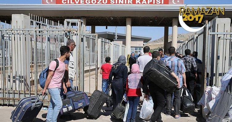 Cilvegözü Sınır Kapısı'nda ramazan geçişleri devam ediyor