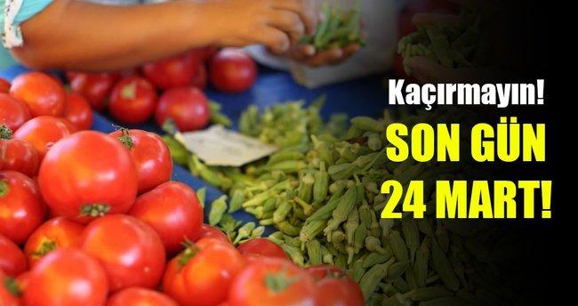 Organik tarım desteği başvurularında son gün 24 Mart!
