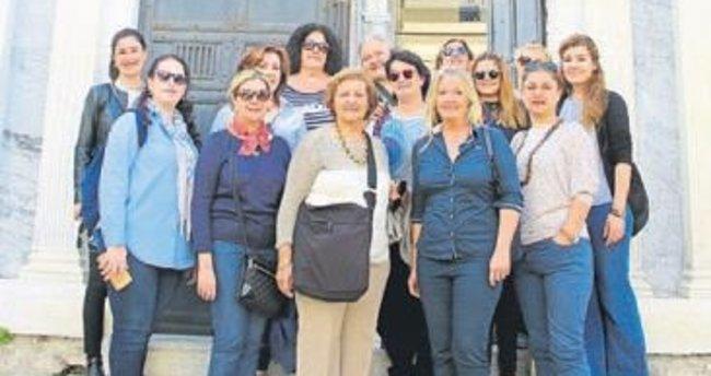 İzmir tarihine yolculuk ettiler