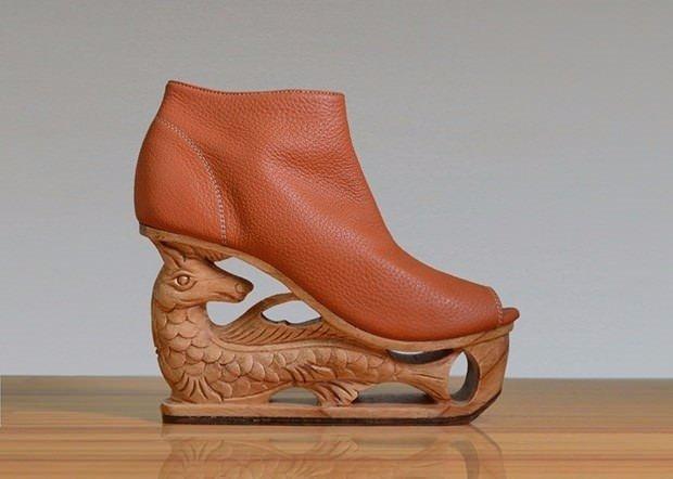 Ayakkabı değil sanat eseri!