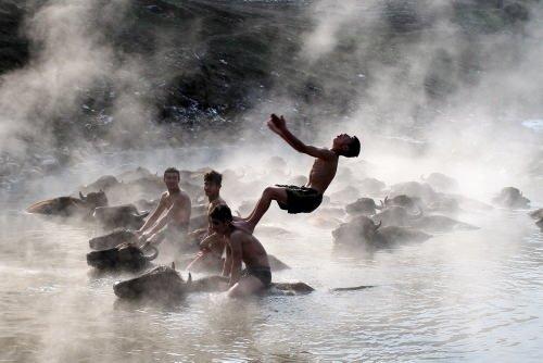Bitlis'te şaşırtan görüntü