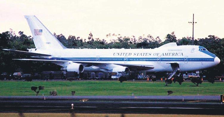 Nükleere karşı 'kıyamet uçağı'