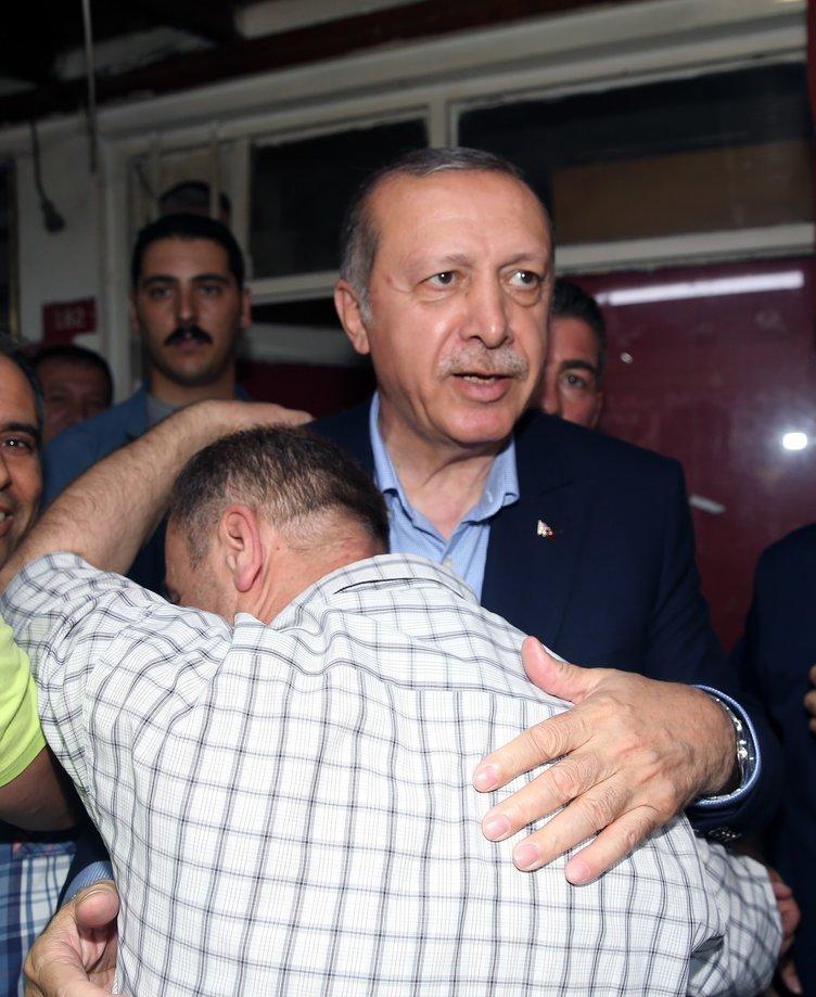 Cumhurbaşkanı Erdoğan'dan köy ziyareti!