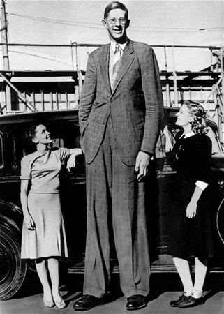 Tarihin en uzun adamı