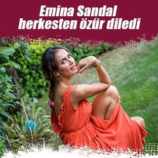 Emina Sandal gittiği bankada müşterileri kızdırdı