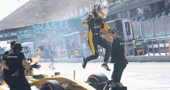 Formula 1'de yangın