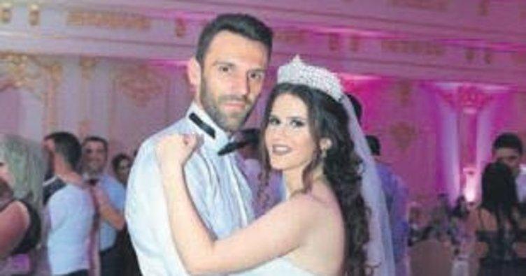 Vedat Muric evlendi
