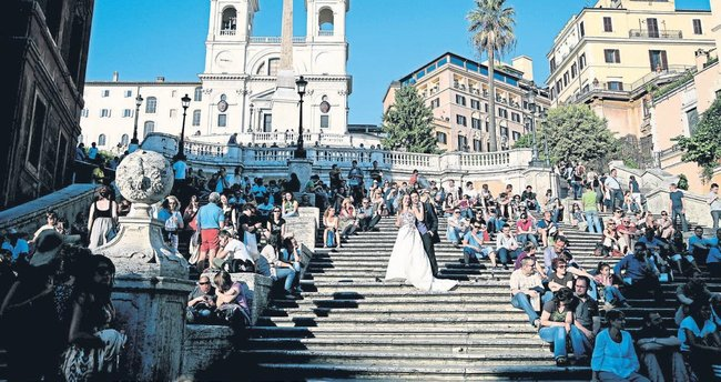 Roma'nın fotoğraf rotası