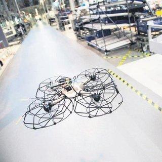 Otomobil üretiminde drone devri